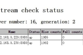 nginx教程:自动检测后台服务器健康状态