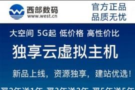 特价主机:西部数码官网正品折扣价冲量