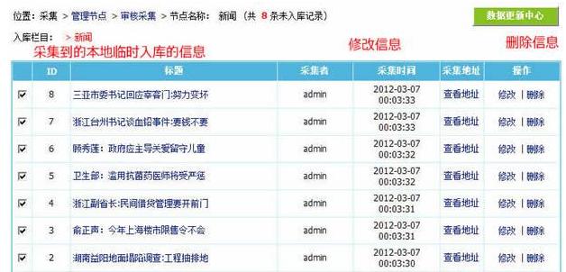 帝国cms采集图文教程(上,中,下)全集 帝国cms采集教程 图文教程 第27张