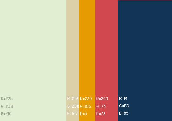 视觉最舒服的网站颜色搭配,多种网页配色方案任你选! 网站颜色搭配 网页配色方案 第1张