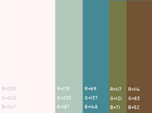视觉最舒服的网站颜色搭配,多种网页配色方案任你选! 网站颜色搭配 网页配色方案 第5张