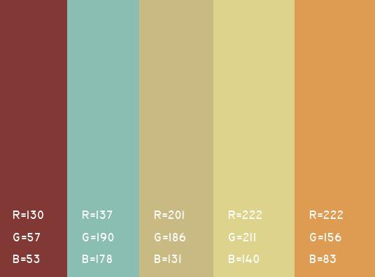 视觉最舒服的网站颜色搭配,多种网页配色方案任你选! 网站颜色搭配 网页配色方案 第6张
