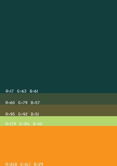 视觉最舒服的网站颜色搭配,多种网页配色方案任你选! 网站颜色搭配 网页配色方案 第8张