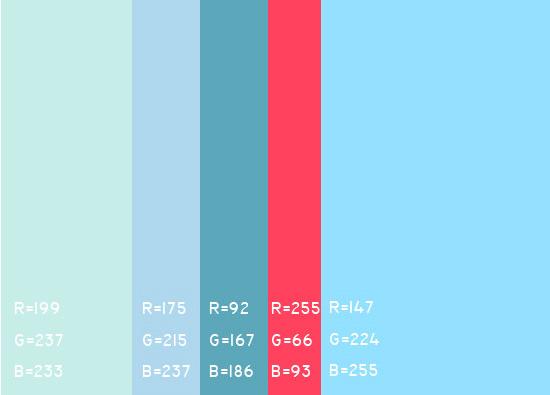 视觉最舒服的网站颜色搭配,多种网页配色方案任你选! 网站颜色搭配 网页配色方案 第9张