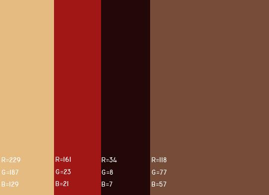 视觉最舒服的网站颜色搭配,多种网页配色方案任你选! 网站颜色搭配 网页配色方案 第10张