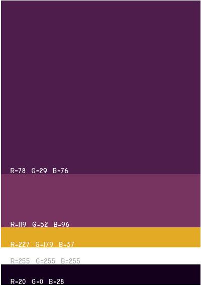 视觉最舒服的网站颜色搭配,多种网页配色方案任你选! 网站颜色搭配 网页配色方案 第36张