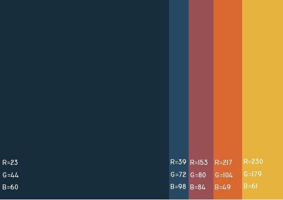 视觉最舒服的网站颜色搭配,多种网页配色方案任你选! 网站颜色搭配 网页配色方案 第39张