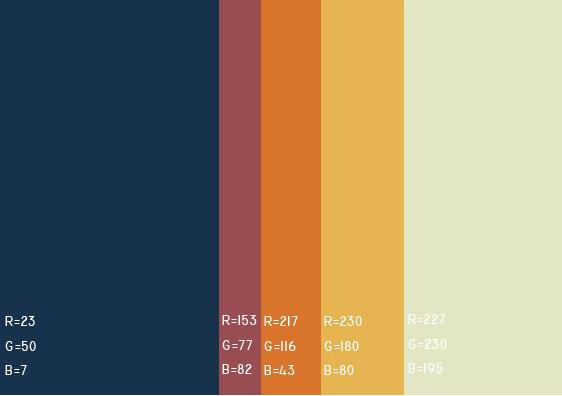 视觉最舒服的网站颜色搭配,多种网页配色方案任你选! 网站颜色搭配 网页配色方案 第41张