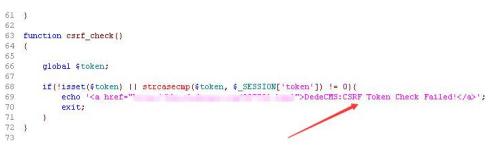 织梦后台报错CSRF Token Check Failed解决方法 织梦后台报错 第4张