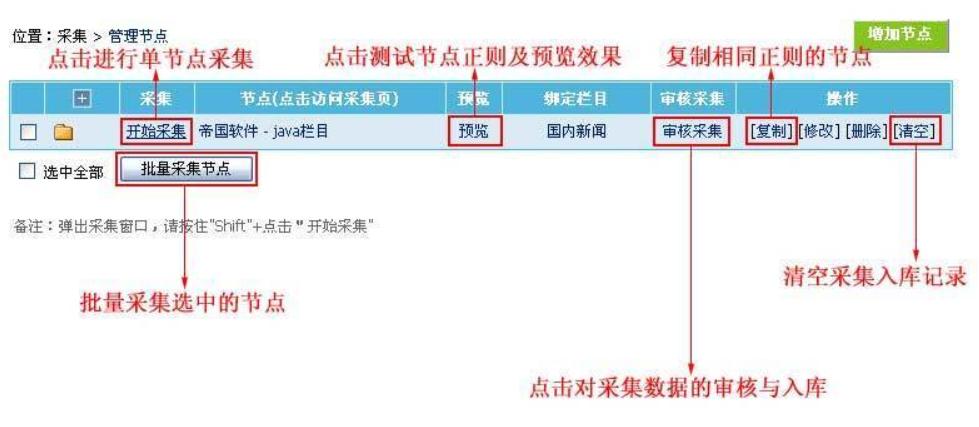帝国cms采集功能的后台管理使用详解 帝国cms采集 第2张
