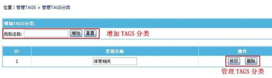 帝国cms后台,tags标签功能详解及使用方法介绍(图文) 帝国cms标签 tags标签 第6张